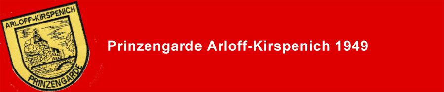 Prinzengarde Arloff-Kirspenich 1949